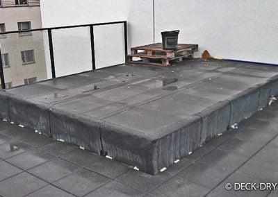 Zabudowa Tarasu - przygotowanie montażu Deck-Dry Poznań