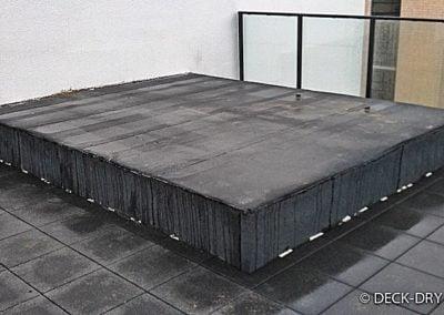 Zabudowa Tarasu - przygotowanie montażu Deck-Dry wielkopolska