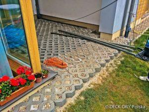 ażurowe płyty betonowe pod taras