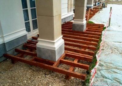 Zabudowy Tarasów - legary zabudowy Deck-Dry