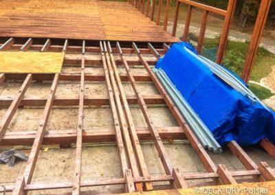 Zabudowy Tarasów podczas montażu mazowieckie