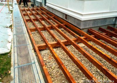 Zabudowy Tarasów prace przygotowawcze podbudowy - Deck-Dry