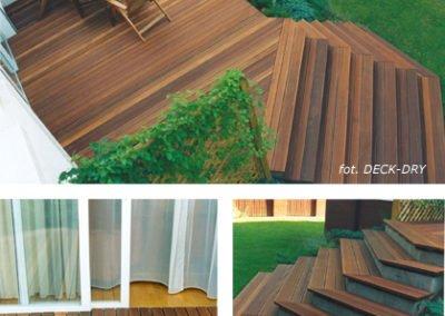 pomysł na schody w ogrodzie przy domu