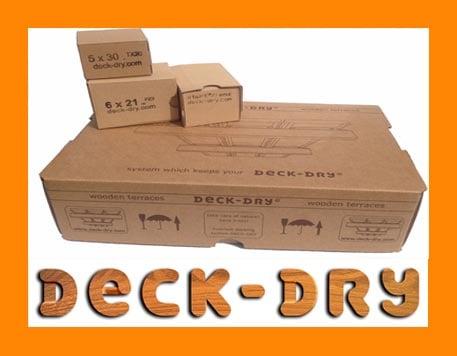 klipsy montażowe DECK-DRY