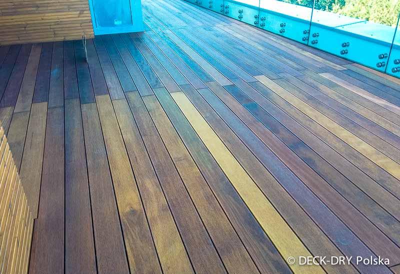 taras drewniany architekt